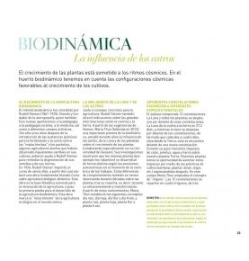 """""""Descubre el huerto biodinámico"""", Peter Berg (192 pag.)  de LA FERTILIDAD DE LA TIERRA ED."""