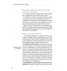 """""""Otra alimentación es posible"""", Claude Aubert (264 pag.)  de LA FERTILIDAD DE LA TIERRA ED."""