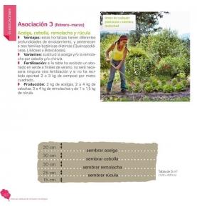 """""""Asociar cultivos en el huerto ecológico"""", Claude Aubert (119 pag.)  de LA FERTILIDAD DE LA TIERRA ED."""