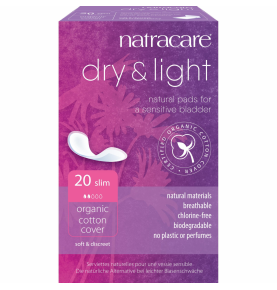 Compresa Incontinencia Dry&Light Slim Bio, Natracare (20 Uni)