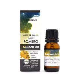 Aceite Esencial Romero Alcanfor Bio, Terpenic (10ml)