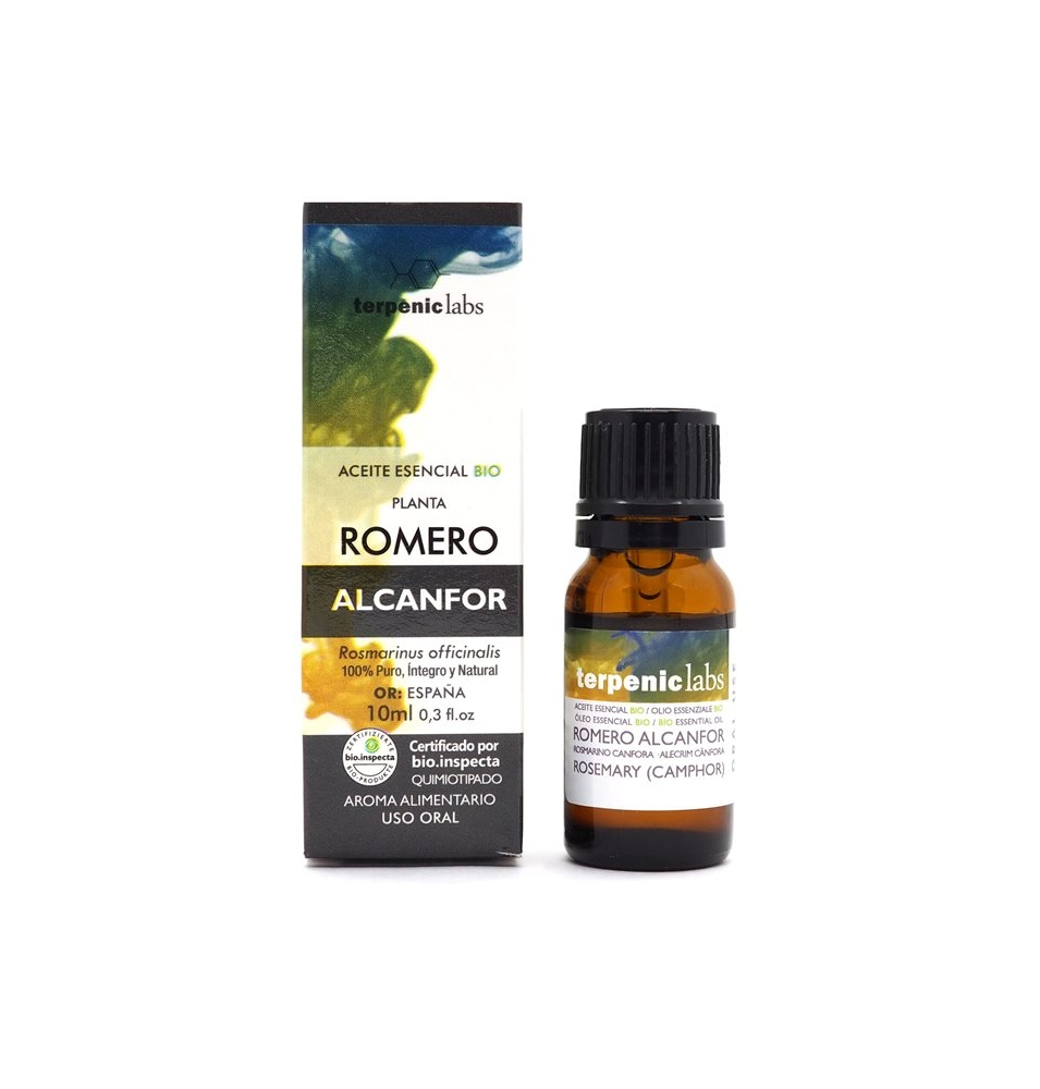 Aceite Esencial Romero Alcanfor Bio, Terpenic (10ml)  de Terpenic Labs