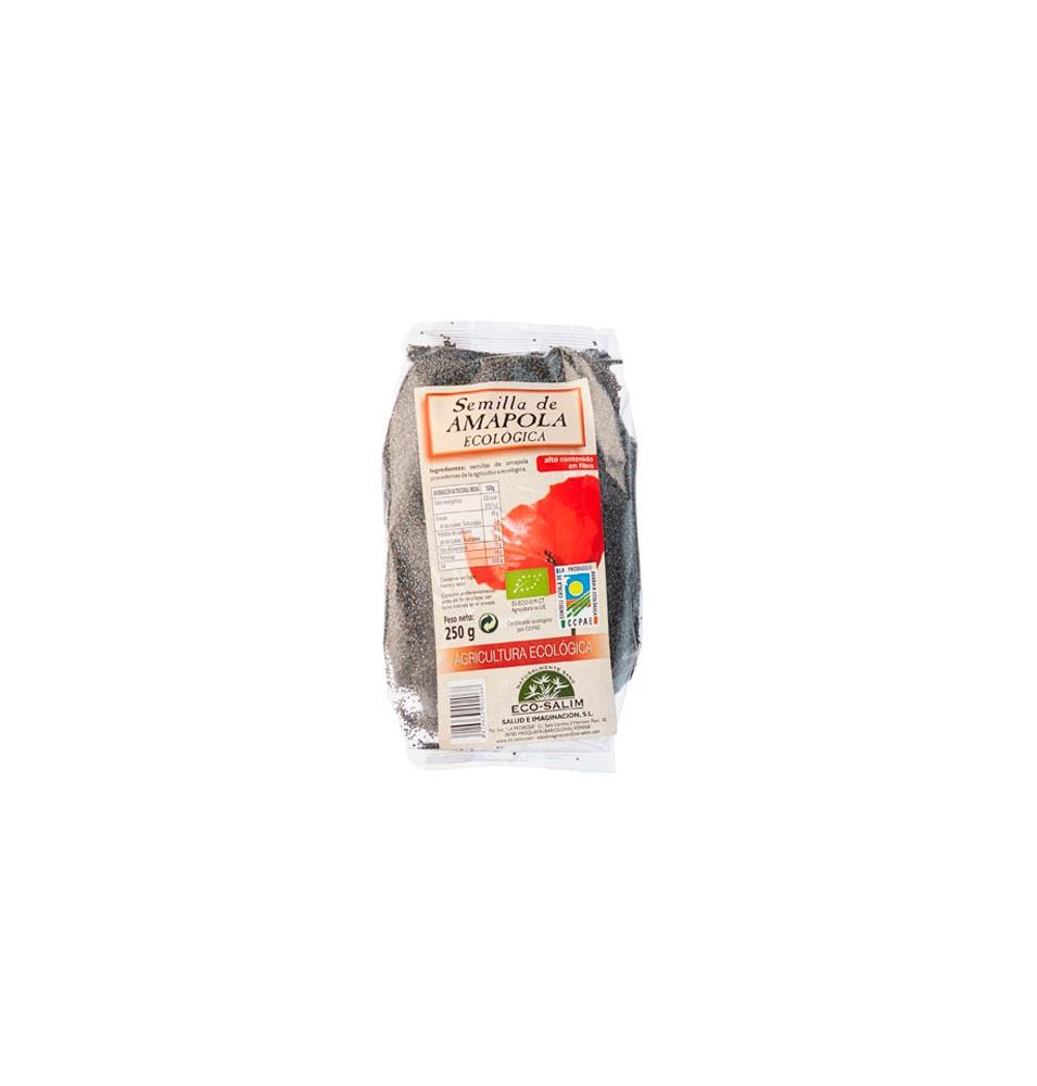 Semilla de amapola Bio, Eco- Salim (250g)  de ECO-SALIM & INT-SALIM