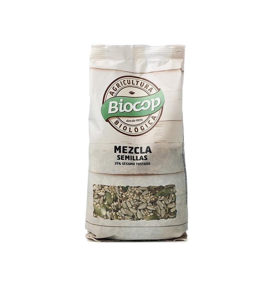 Mezcla de semillas con sésamo tostado Bio, Biocop (250g)  de Biocop