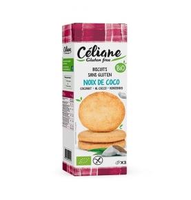 Galletas de coco sin gluten Bio, Celiane (3*50g)