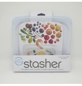 Bolsa de silicona platino, Stasher (450ml)  de Stasher