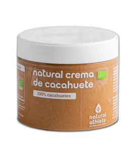 Crema de Cacahuete Bio, Natural Athlete (300g)  de Natural Athlete