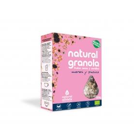 Granola de moras y pasas Bio, Natural Athlete (325g)  de Natural Athlete