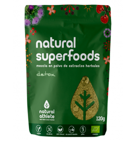 Superfoods Detox Bio, Natural Athlete (120g) SanoBio