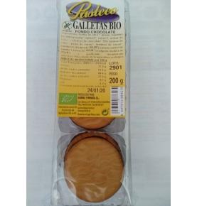 Galletas con fondo chocolate sin gluten Bio, Pasteco (200g)  de Gumendi