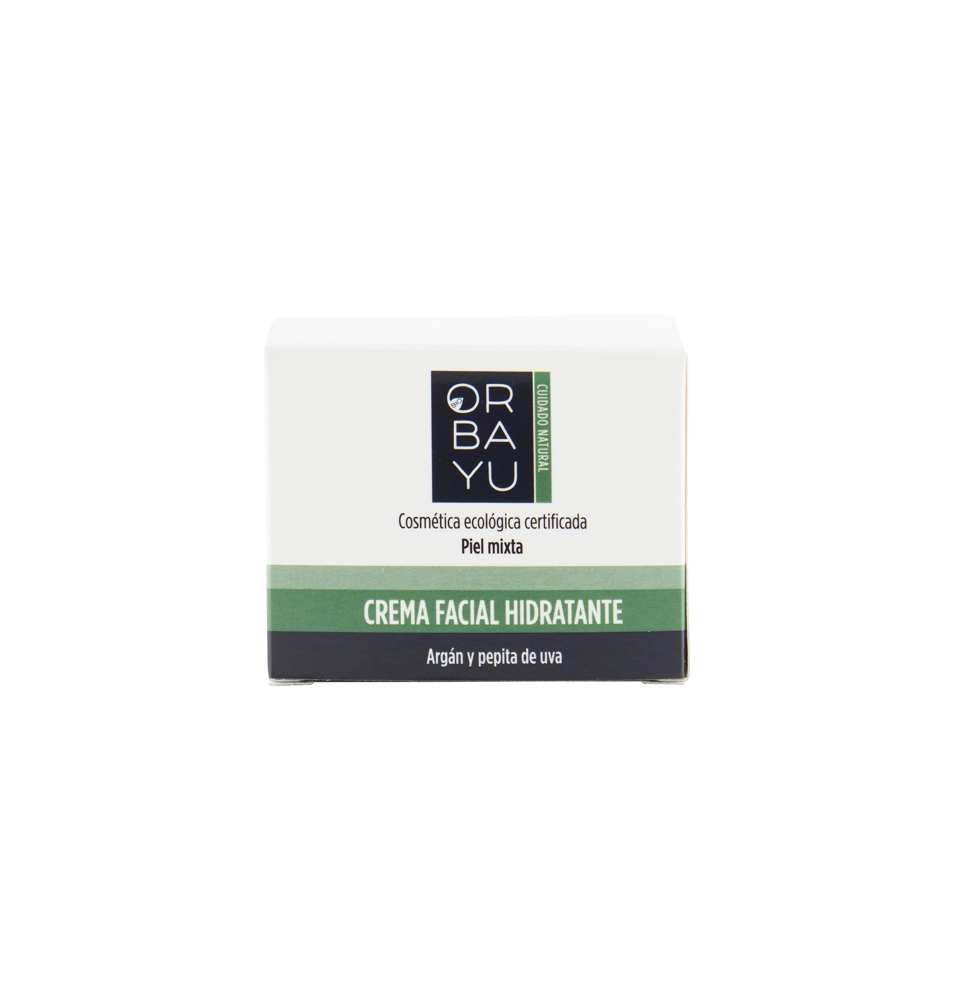 Crema facial hidratante, Orbayu (50ml)  de Orbayu Natural S. Coop. Mad.