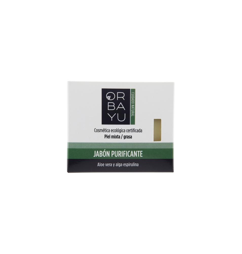 Jabón purificante, Orbayu (80g)SanoBio