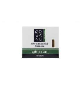 Jabón exfoliante, Orbayu (80g)  de Orbayu Natural S. Coop. Mad.