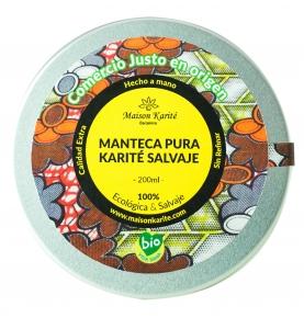 Manteca pura de Karité Salvaje Bio, Maison Karité (200ml)SanoBio