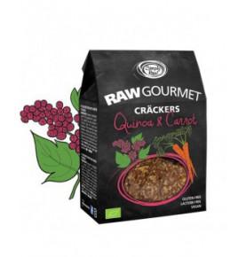 Craker de Quinoa y Zanahoria Bio, Simply Raw (50g)  de Simply Raw