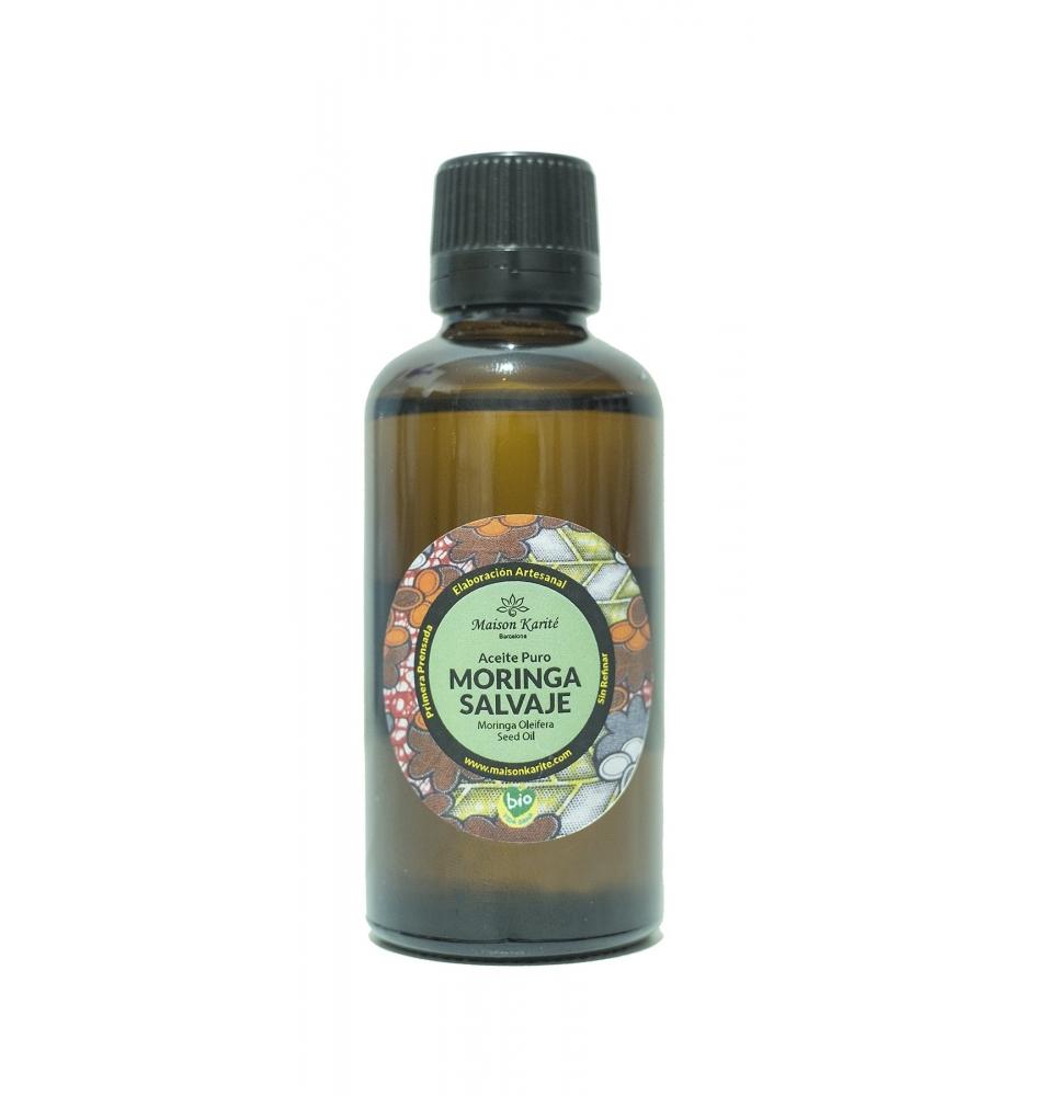 Aceite Puro de Moringa Salvaje Bio, Maison Karité (30ml)  de Maison Karite
