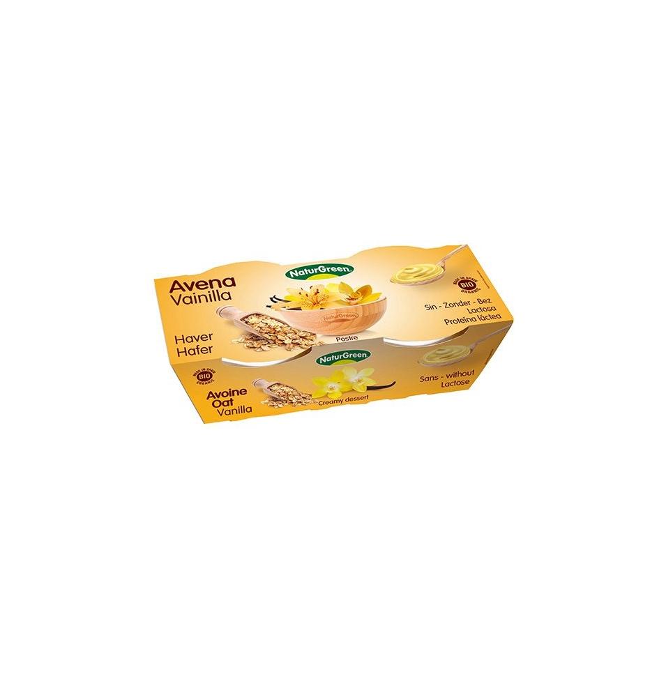 Postre de avena con vainilla, Naturgreen (2 * 125g)
