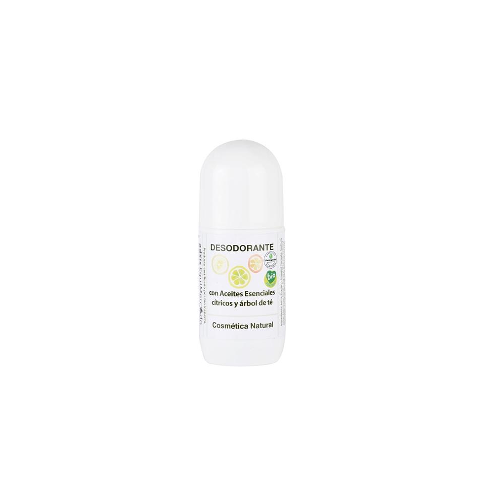 Desodorante con aceites cítricos y árbol del té Bio, Equimercado (50ml)  de EquiMercado