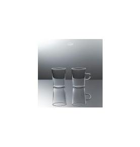 Vaso de vidrio borosilicato, Jena Trendglas (0.22l) SanoBio