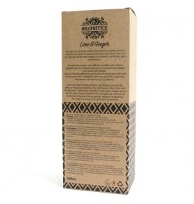 Ambientador Mikado de aceites esenciales lima y jengibre, Ancient Wisdom (200ml)SanoBio