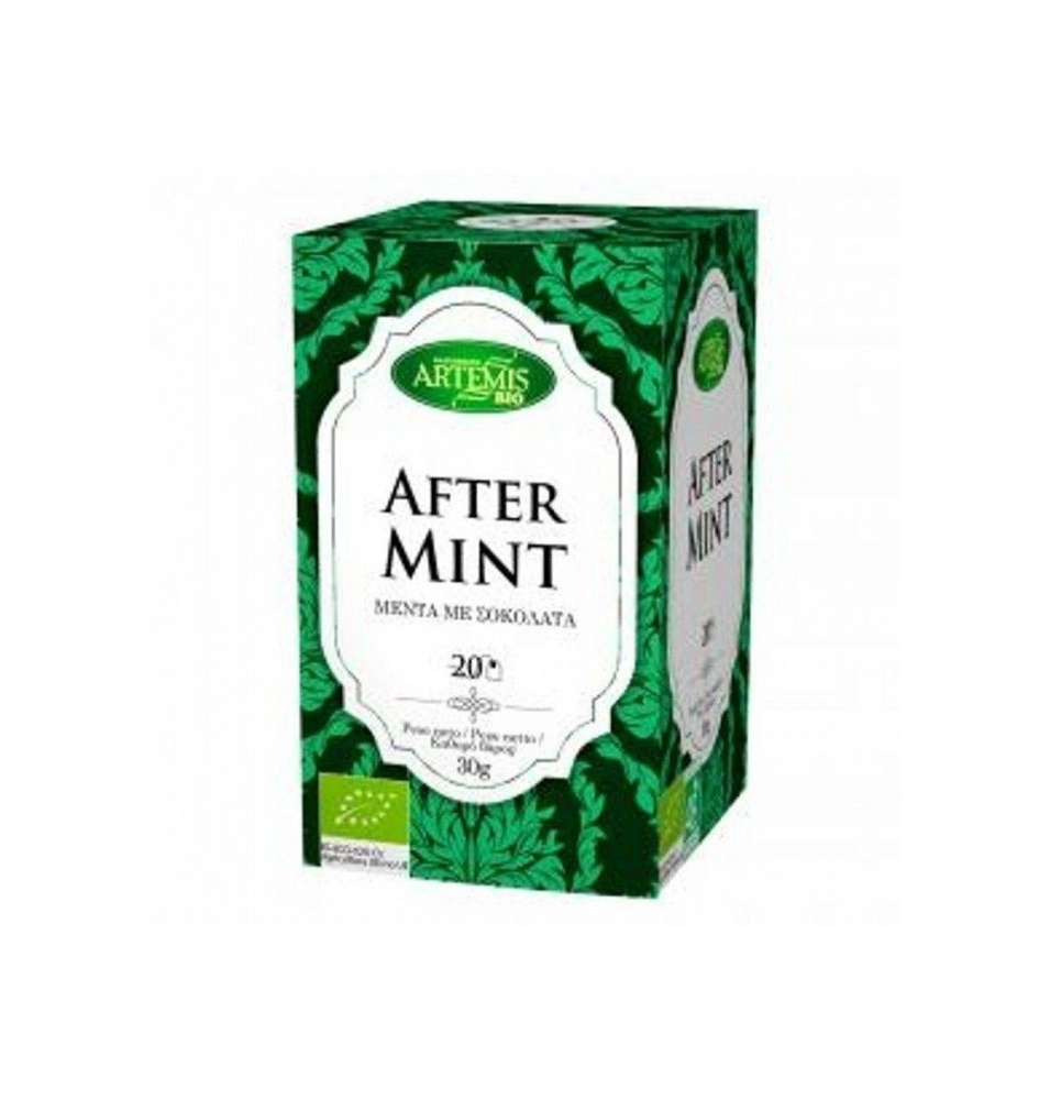 Infusión After Mint bio, Artemis (20 filtros)  de Artemis Bio