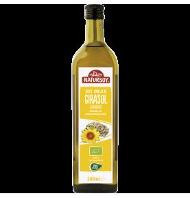 Aceite de girasol bio, Natursoy (1l)