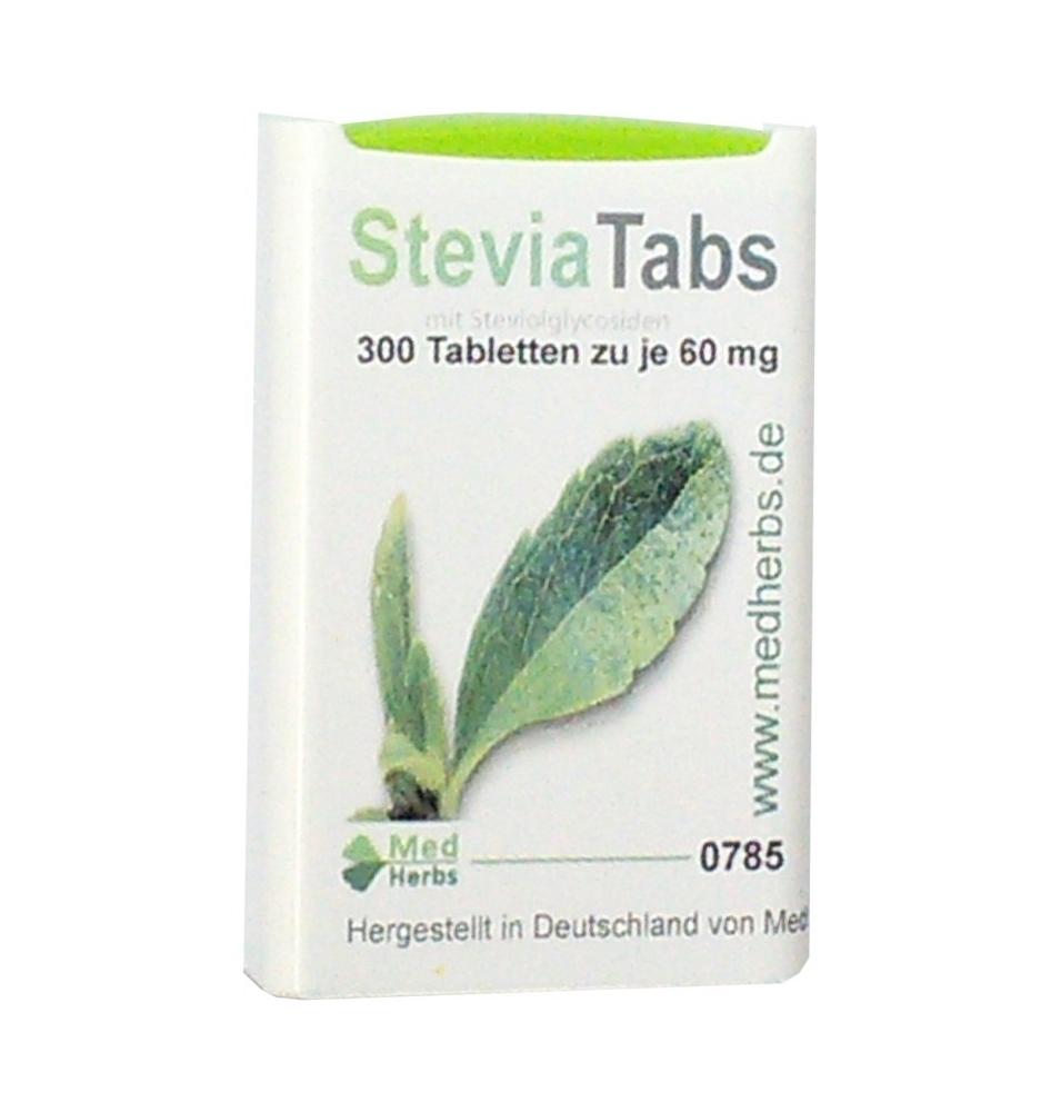 EsteviaTabs, Med Herbs (300 pastillas)  de Med Herbs