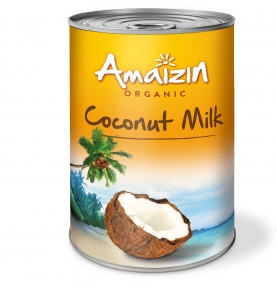 Leche de coco bio, Amaizin ( 400ml)  de Amaizin