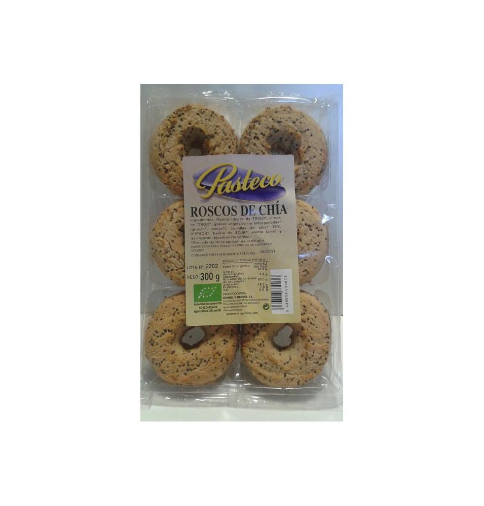 Roscos de chia Bio Pasteco (300 g)  de Gumendi