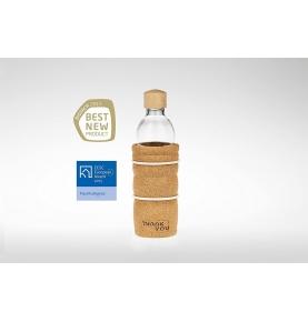 Botella de cristal Thank You, Nature's Design (700 ml)  de Nature's Design