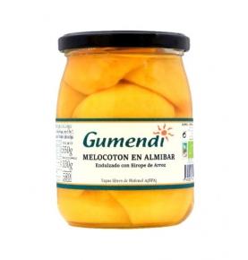 Melocotón en almíbar bio, Gumendi (580g)  de Gumendi