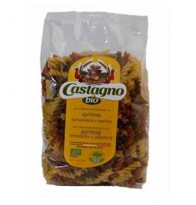 Espiral con quinoa, remolacha y albahaca Bio, Castagno (500g)