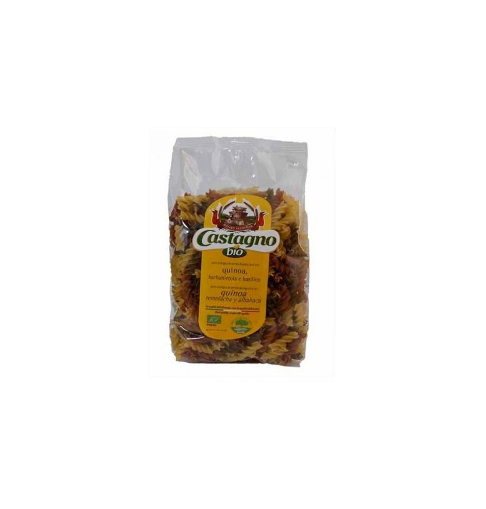 Espiral con quinoa, remolacha y albahaca Bio, Castagno (500g)  de Castagno Bruno