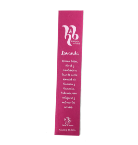 Incienso natural de Lavanda, H&B Incense (20g)  de H&B Incense