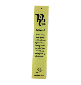 Incienso natural de Vetivert, H&B Incense (20g)  de H&B Incense