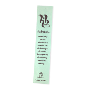 Incienso natural Rudraksha, H&B Incense (20g)  de H&B Incense