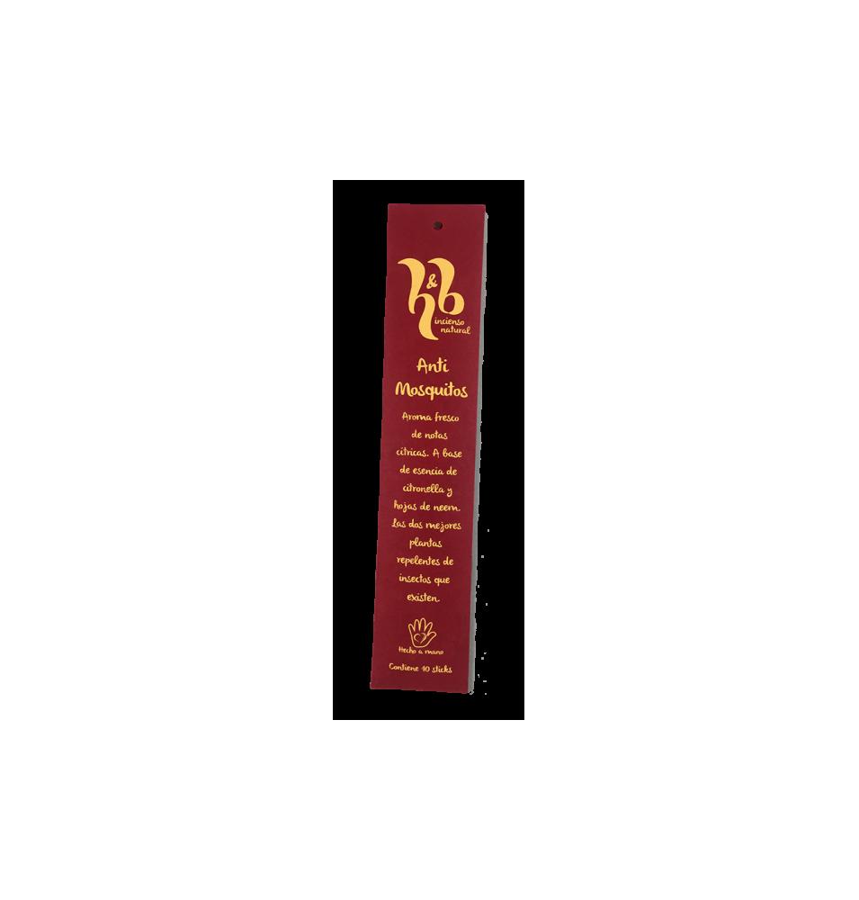 Incienso de Neem y Citronella (Antimosquitos), H&B Incense (20g)  de H&B Incense