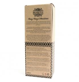 Ambientador Mikado de aceites esenciales Ylang Ylang y Mandarina, Ancient Wisdom (200ml)  de ANCIENT WISDOM
