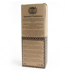 Ambientador Mikado de aceites esenciales Menta y Frankincienso, Ancient Wisdom (200ml)  de ANCIENT WISDOM
