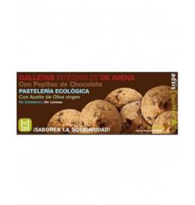 Galletas integrales de avena con pepitas de chocolate bio, Equimercado (100g)  de EquiMercado