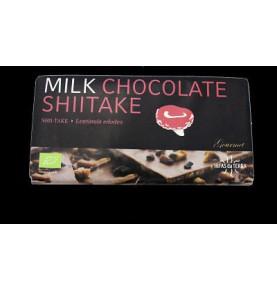 Chocolate con leche de arroz y shiitake Bio Hifas da Terra  de Hifas da Terra