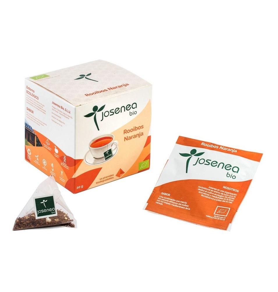 Rooibos Naranja Bio, Josenea  (10 pirámides)SanoBio