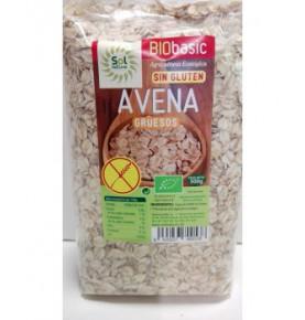 Copos de avena s/gluten gruesos Bio Sol Natural (500g)  de