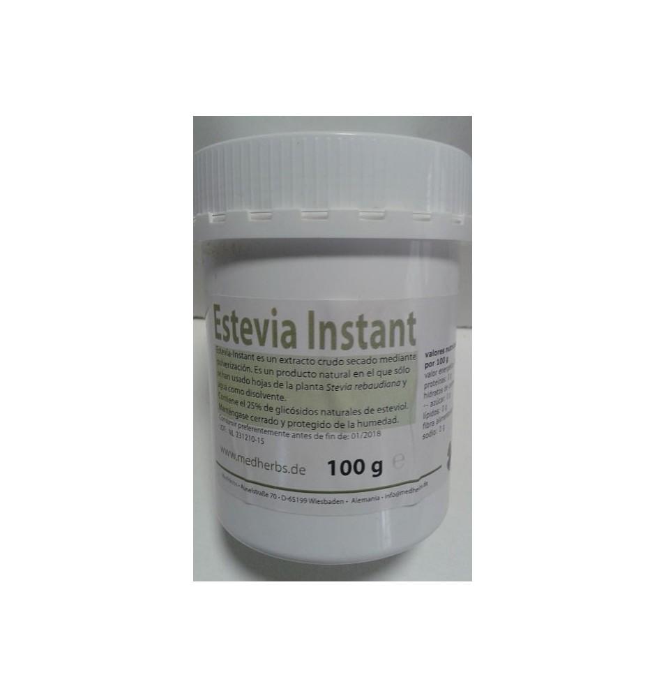 Estevia Instant Bio, Med Herbs (100g)  de Med Herbs