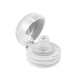 Tapón blanco para botella reutilizable de Tritan, Kavodrink