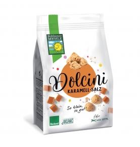 Galleta espelta con caramelo y sal bio Dolcini, Bohlsener Mühle (150 g)