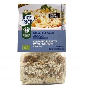 Risotto con calabaza Bio, Rice & Rice (250g)