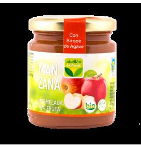 Mermelada de Manzana e infusión de canela con Sirope de agave bio, Abellán Biofoods (265g)  de Abellán Biofoods