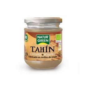 Tahin Puré Sésamo Tostado Bio, NaturGreen (300 g)  de NaturGreen