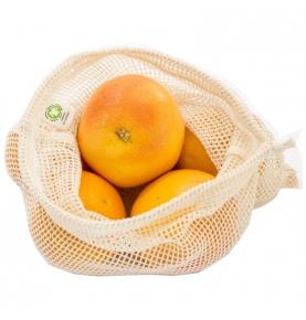 Bolsa de Red para la Fruta Algodón Orgánico (25x30)  de